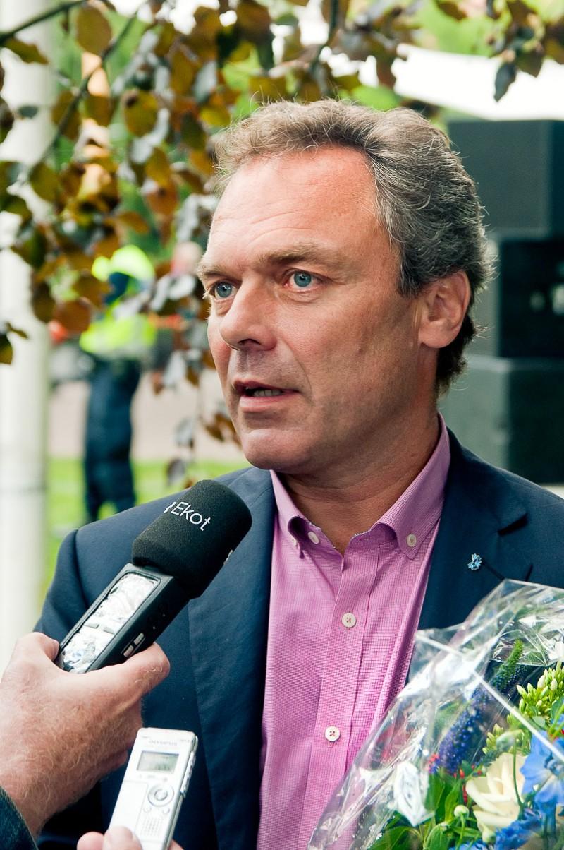 Jan Björklund i Almedalen 2011