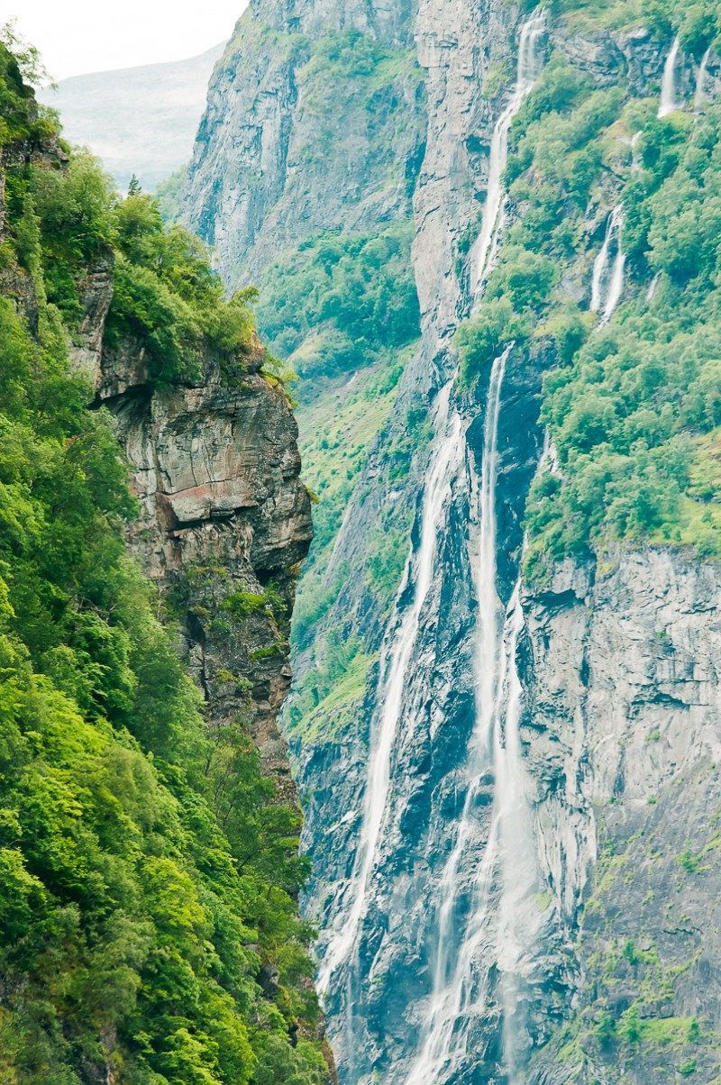 Cliffs of the Geirangerfjord