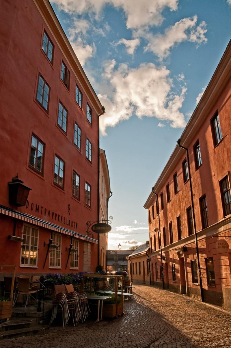 Uppsala vid Domtrappkällaren