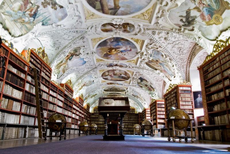 Library in Prauge