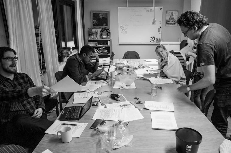 Högskolpolitiska skrivargruppen för S-studenter 2012