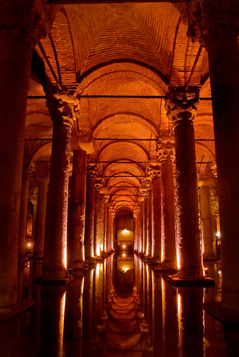 Cistern beneath Istanbul