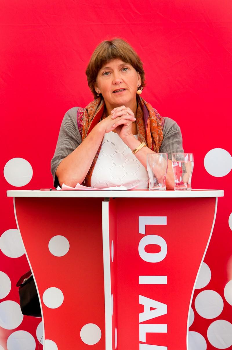 Lena Sommestad i Almedalen 2011
