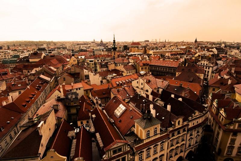 The city of Prauge