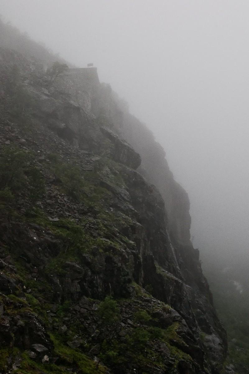 Road in the mist - Trollstigen