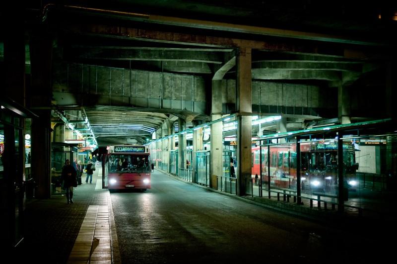 Buss i Stockholm