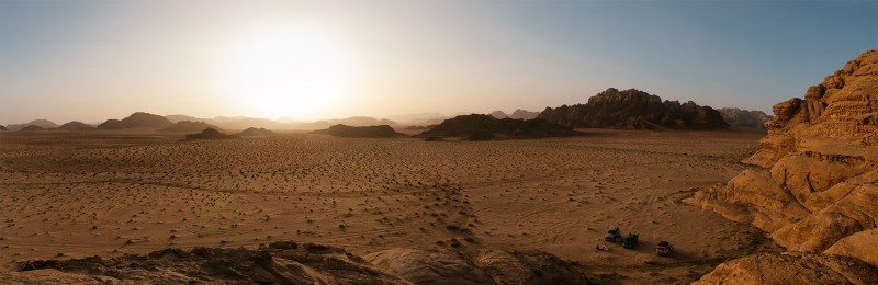 Wadi sunset