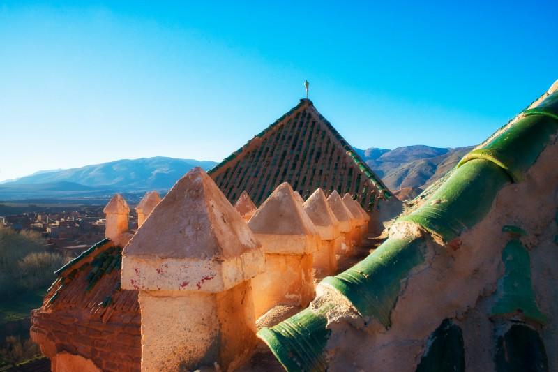 Kasbah roofs