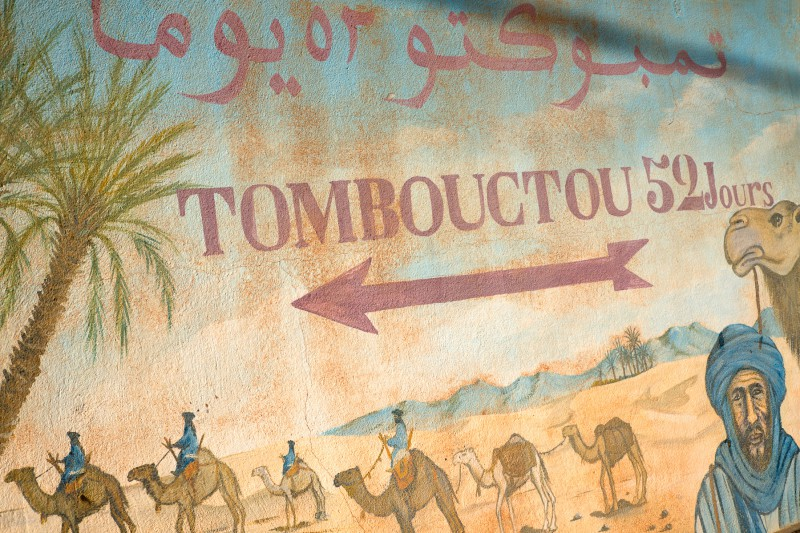 Path to Timbuktu
