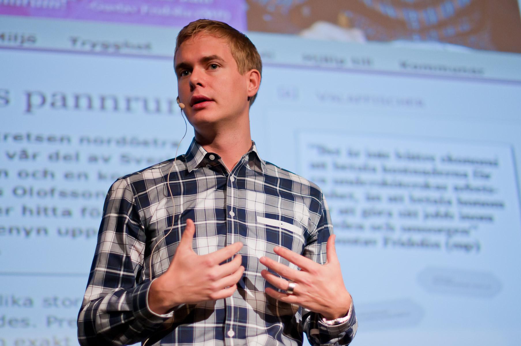TEDxHornstull - Gustav Fridolin