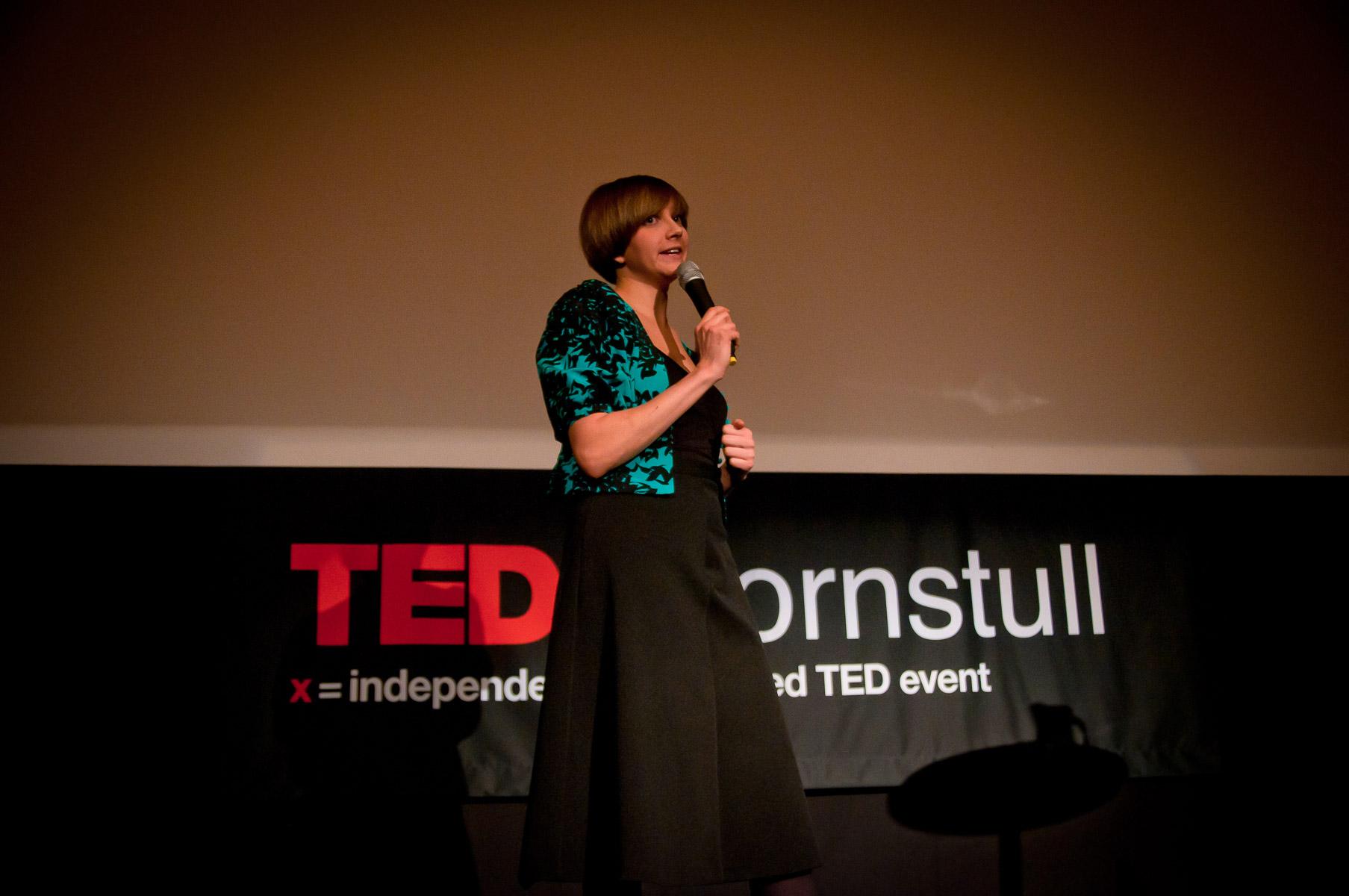 TEDxHornstull - Hanna Hallin