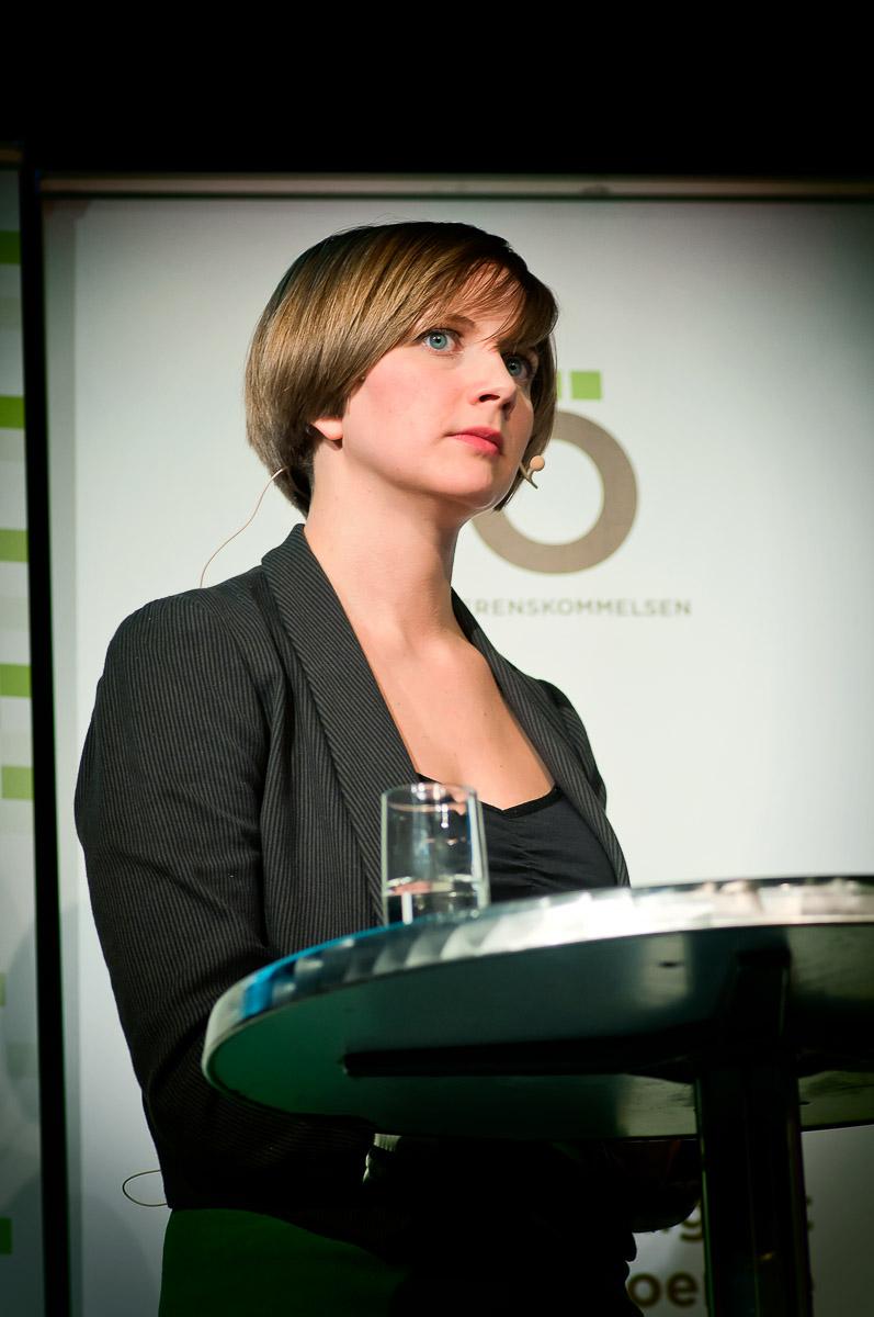 Hanna Hallin på Överenskommelsens konferens