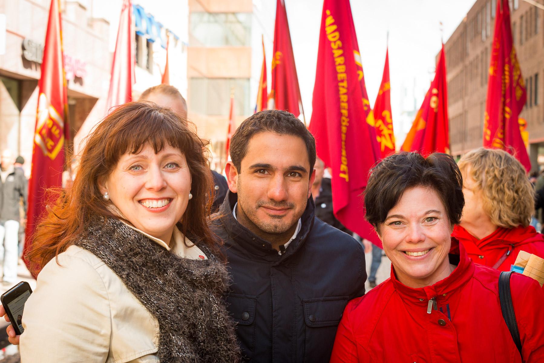 Socialdemokraterna i Uppsala – Första maj 2014