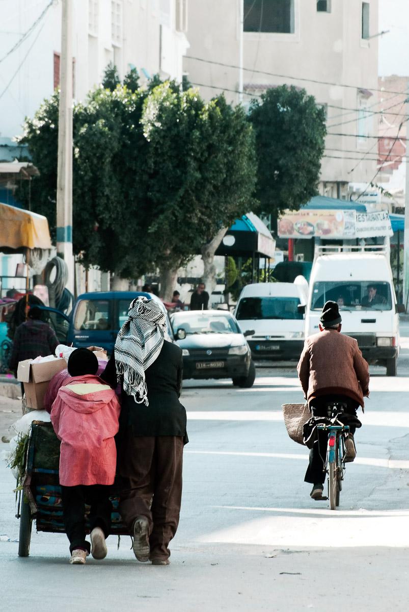 Kairouan streets