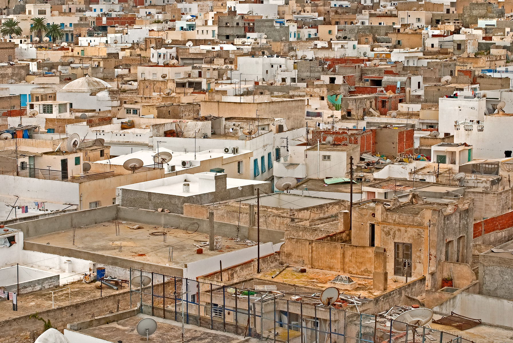 Roofs of Tunisia