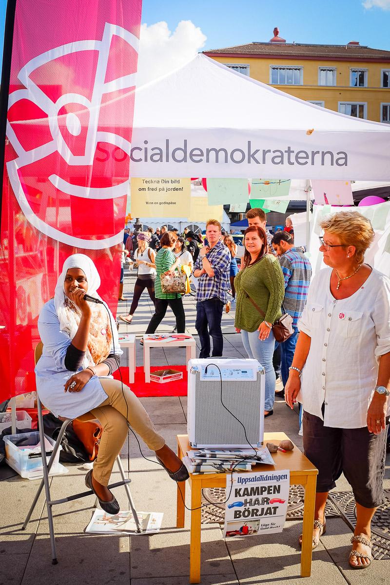 Socialdemokraterna i Uppsala på Kulturnatten 2013